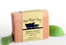olive oil and goat milk soap