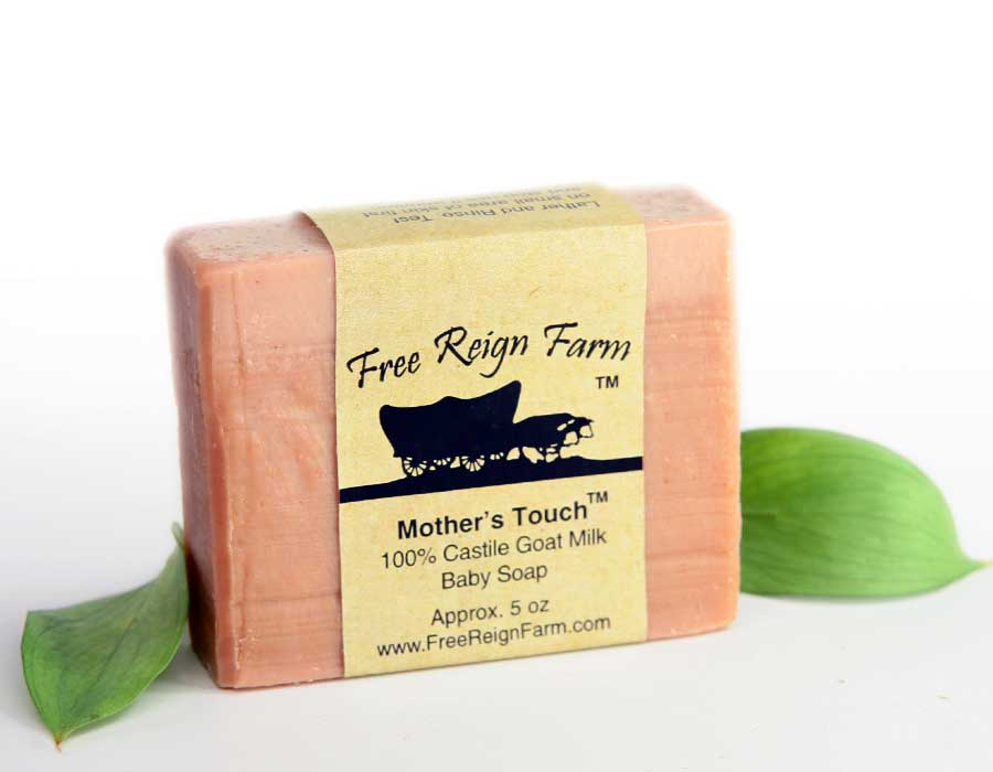 Mother's Touch , Pure Castile , Goat Milk Baby Soap
