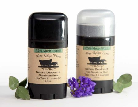 Tea Tree & Lavender all natural deodorant