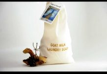 goat milk laundry soap