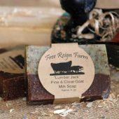 Free Reign Farm's Lumber Jack Soap