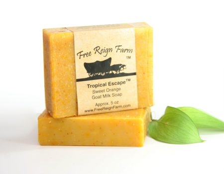 Goat Milk Soap with Sweet Orange essential oil