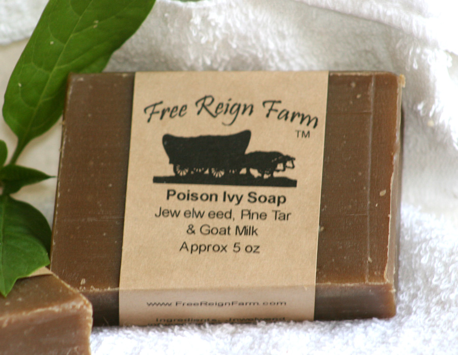 poison ivy soap jewelweed pine tar tea tree goat milk soap 5 00 out of ...