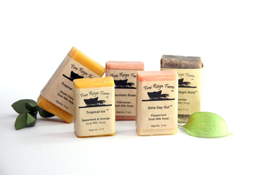 free soap samples