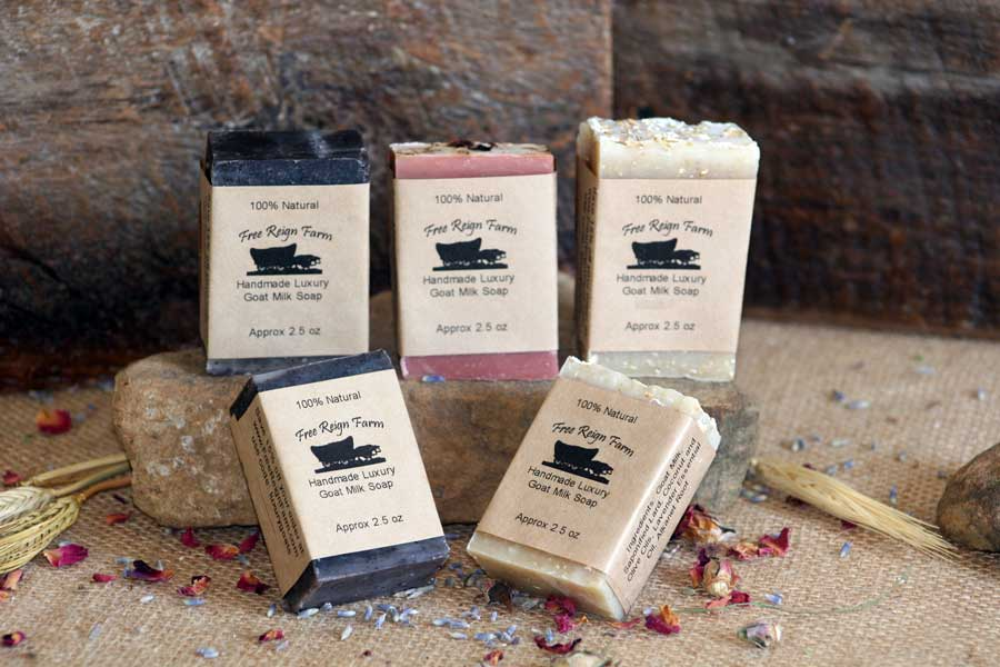 wedding goat milk soaps