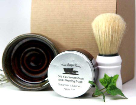 Deluxe Shaving Soap, Brush, & Mug set