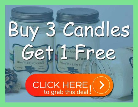 Wood Wick Soy Candles Buy 3 Get 1 Free