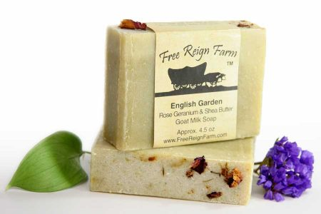 Shea butter and goat milk soap
