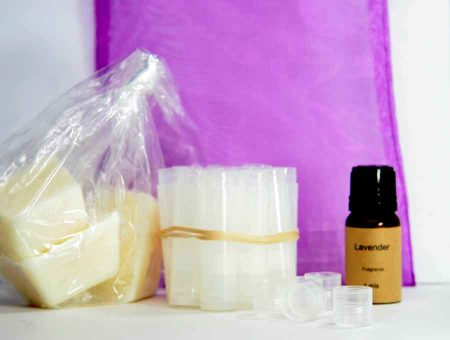 Natural Lip Balm DIY Kit