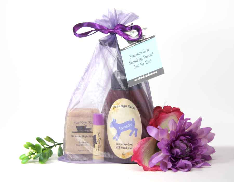 Free Reign Farm Goat Milk Soap Gift Set