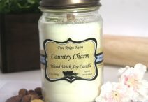 Free Reign Farm Country Charm Wood Wick Soy Candle